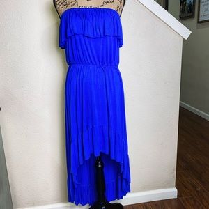 Lilka by Anthropologie high low cut dress